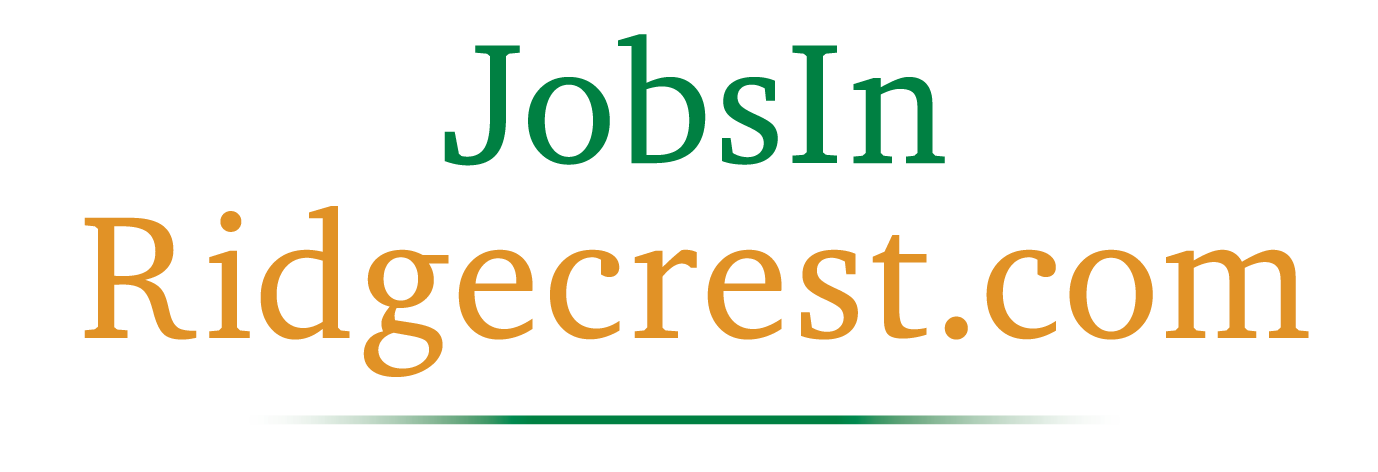 Jobs in Ridgecrest